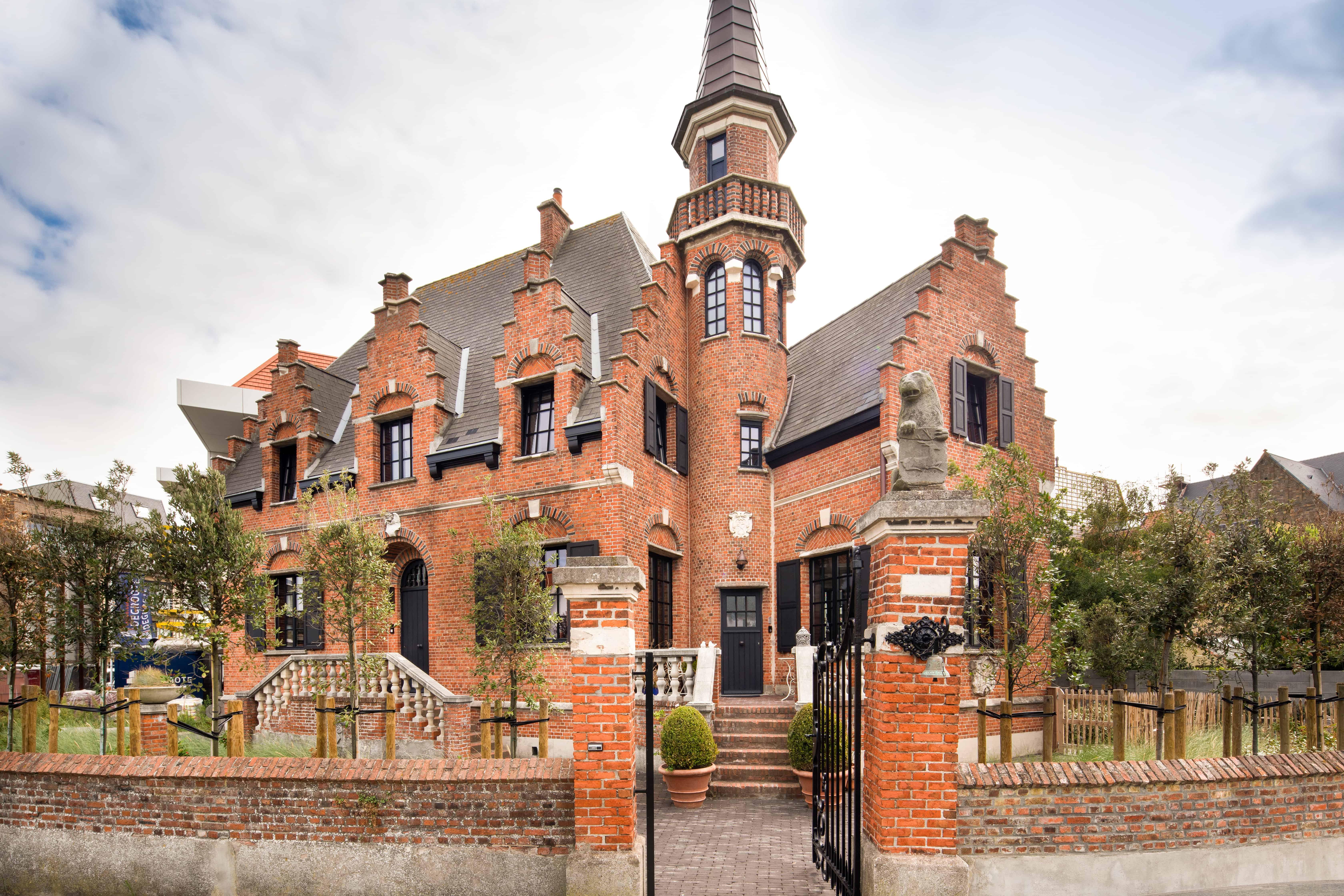 Boudolf tegels inkom - West-Vlaanderen - Gistel