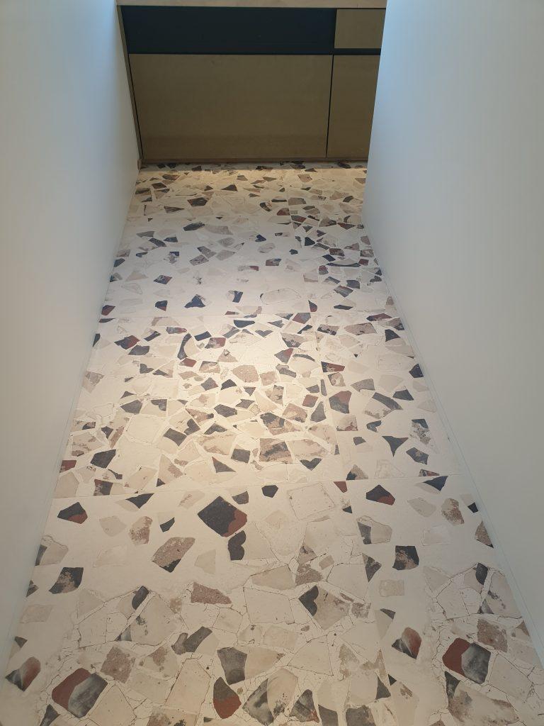 Keramisch tegels met moderne print